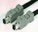Firewire camera cable for AVT  1394 firewire camera