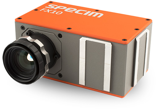 Hyperspectral pushbroom cameras explained